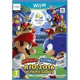 Sonic spel för nintendo wii Nintendo Wii U-spel Mario & Sonic at the Rio 2016 Olympic Games