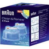 Rengöring för rakapparater Braun Clean &Renew CCR2 2-pack