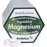 Vitaminer & Mineraler Berthelsen Magnesium 600 240 st