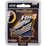Rakblad & Rakbladskassetter HeadBlade HB4 4-pack