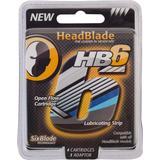 Rakblad & Rakbladskassetter HeadBlade HB6 4-pack
