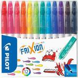 Markers Pilot Frixion Colors Erasable Marker 12-pack