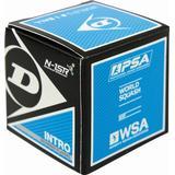 Squashbollar Dunlop Intro Blue 1-pack