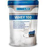 Kosttillskott Bodylab Whey 100 Strawberry Milkshake 1kg