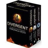 Divergent pocket engelska Böcker Divergent Trilogy Boxed Set (Adult Edition) (Pocket, 2014)