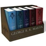 A song of ice and fire boxed set Böcker George R. R. Martin's a Game of Thrones Leather-Cloth Boxed Set (Song of Ice and Fire Series): A Game of Thrones, a Clash of Kings, a Storm of Swords, (Häftad, 2015)