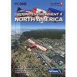 Microsoft flight simulator x PC-spel Microsoft Flight Simulator X: Ground Environment X - North America