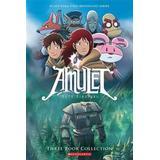 Kazu kibuishi Böcker Amulet Boxset: Books 1-3 (Häftad, 2013)