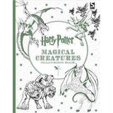 Harry potter colouring Böcker Harry Potter Magical Creatures Colouring Book (Häftad, 2016)