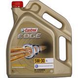 5w 30 5 liter Motortillbehör Castrol Edge Titanium FST 5W-30 LL 5L Motorolja