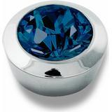 Ringar Dyrberg/Kern Strength Toppings - Silver/Mörkblå