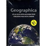 Uppslagsverk Böcker Geographica: atlas och uppslagsverk över världens folk och länder (Flexband, 2009)