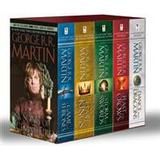 A song of ice and fire boxed set Böcker George R. R. Martin's a Game of Thrones 5-Book Boxed Set (Song of Ice and Fire Series): A Game of Thrones, a Clash of Kings, a Storm of Swords, a Feas (Häftad, 2013)