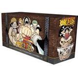 One piece box set Böcker One Piece Box Set: East Blue and Baroque Works (Volumes 1-23 with premium) (Häftad, 2013)