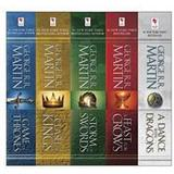 A song of ice and fire boxed set Böcker George R. R. Martin's A Game of Thrones 5-Book Boxed Set (Song of Ice and Fire Series) (E-bok, 2015)