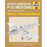 P 51 mustang Böcker North American P-51 Mustang: 1940 Onwards (All Marks) (Häftad, 2016)