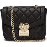 Väskor Love Moschino Quilted Polyurethane Bag - Black