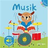 Nyfikna öron Böcker Musik - Peka, lyssna (Board book, 2013)