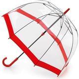 Genomskinligt paraply Fulton Birdcage 1 Red