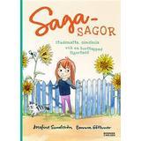 Sagasagor Böcker Sagasagor: Studsmatta, simskola och en borttappad tigertass (E-bok, 2016)