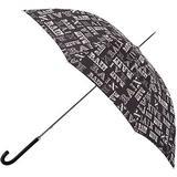 Walkingparaply Totes Elegant Walker Umbrella Rain Text (9716REF)