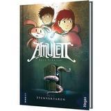 Kazu kibuishi Böcker Amulett: Stenväktaren 1 (Inbunden, 2013)