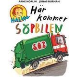Halvan här kommer arne norlin Böcker Här kommer sopbilen: Halvan (Kartonnage, 2004)