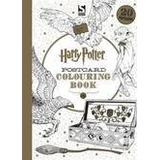 Harry potter colouring Böcker Harry Potter Postcard Colouring Book (Häftad, 2016)