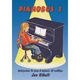 Böcker Pianobus 1: nybörjarskola för piano & keyboard (Häftad, 2005)