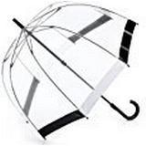 Genomskinligt paraply Fulton Birdcage 1 Black/White