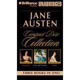 Jane austen emma Böcker jane austen unabridged cd collection pride and prejudice persuasion emma