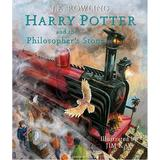 Harry potter and the philosophers stone Böcker Harry Potter and the Philosophers Stone Illustrated Edition (Inbunden, 2015)