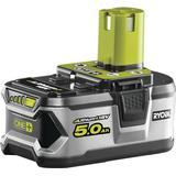 Lithium Batterier och Laddbart Ryobi RB18L50