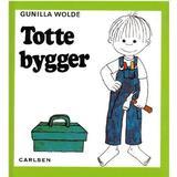 Totte gunilla Böcker Totte bygger (Inbunden, 2005)