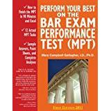 Best i test Böcker Perform Your Best on the Bar Exam Performance Test (Mpt): Train to Finish the Mpt in 90 Minutes Like a Sport