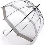 Genomskinligt paraply Fulton Birdcage 1 Silver