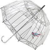 Genomskinligt paraply Fulton Lulu Guinness Birdcage 2 Birdcage