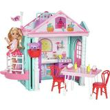 Dollhouse dolls Mattel Barbie Club Chelsea Playhouse
