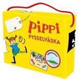 Pippi bok Pippi pysselväska (Övrigt format, 2017)