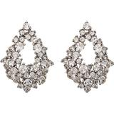 Örhängen Lily and Rose Alice Tin Earrings w. Transparent Cubic Zirconium - 3.2cm (60571)