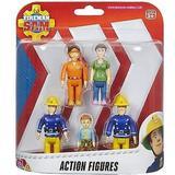 Brandman Sam Leksaker Character Fireman Sam Action Figures 5 Pack