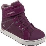 27 Barnskor Viking Sagene Mid GTX Plum/Old Rose