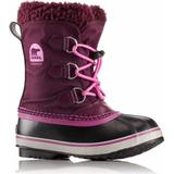 Vinterskor Barnskor Sorel Children's Yoot Pac Nylon Boot - Purple Dahlia