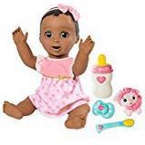 Baby Dolls Spin Master Luvabella Dark Brown Hair
