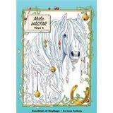 Måla Böcker Måla magiska hästar: konstblad att färglägga (Övrigt format, 2017)