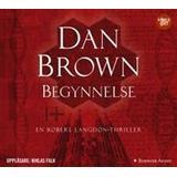 Dan brown begynnelse Böcker Begynnelse (Ljudbok MP3 CD, 2017)