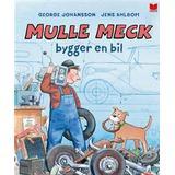 Mulle meck Böcker Mulle meck bygger en bil (Inbunden, 2017)