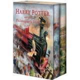 Harry potter böcker engelska Harry Potter Illustrated Boxset (Inbunden, 2016)