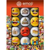 Golfbolde Emoji Novelty (12 pack)