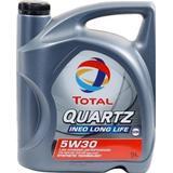 5w 30 5 liter Motortillbehör Total Quartz Ineo Longlife 5W-30 5L Motorolja